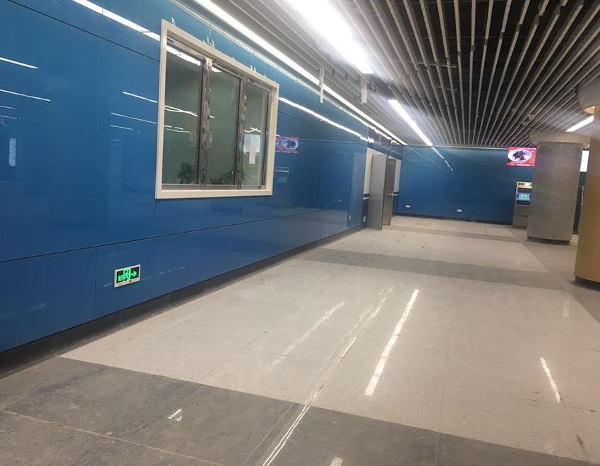 青岛地铁中转站