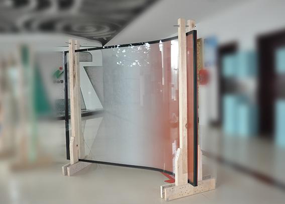 超大板平弯复合节能中空玻璃