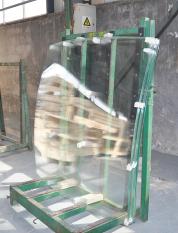 多曲特种钢化玻璃